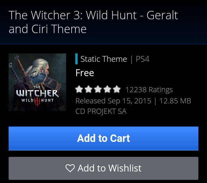The Witcher 3: Wild Hunt - Geralt and Ciri Theme
