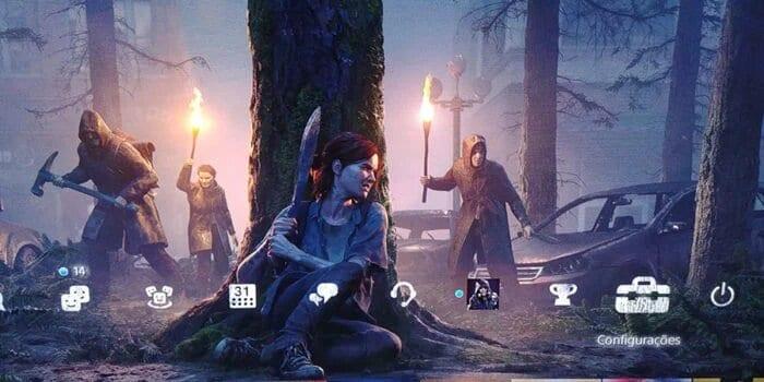 commemorative theme of The Last of Us Part II