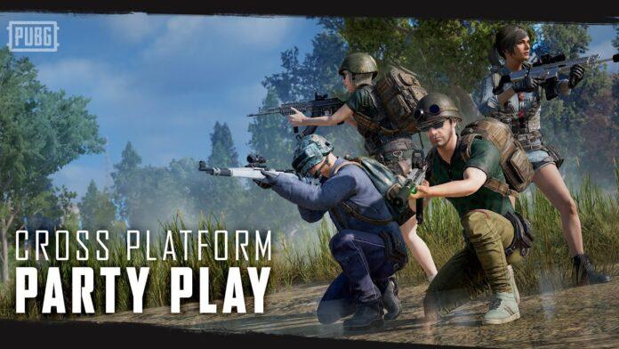 How PUBG cross-play works