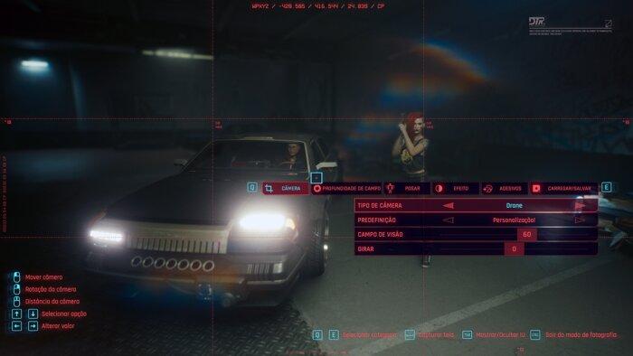 Photography mode in Cyberpunk 2077