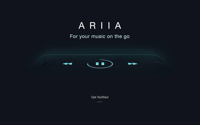 ARIIA iPhone music